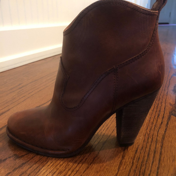 a63105a06cc3 Frye Shoes - Frye Cognac Madeline ankle boots